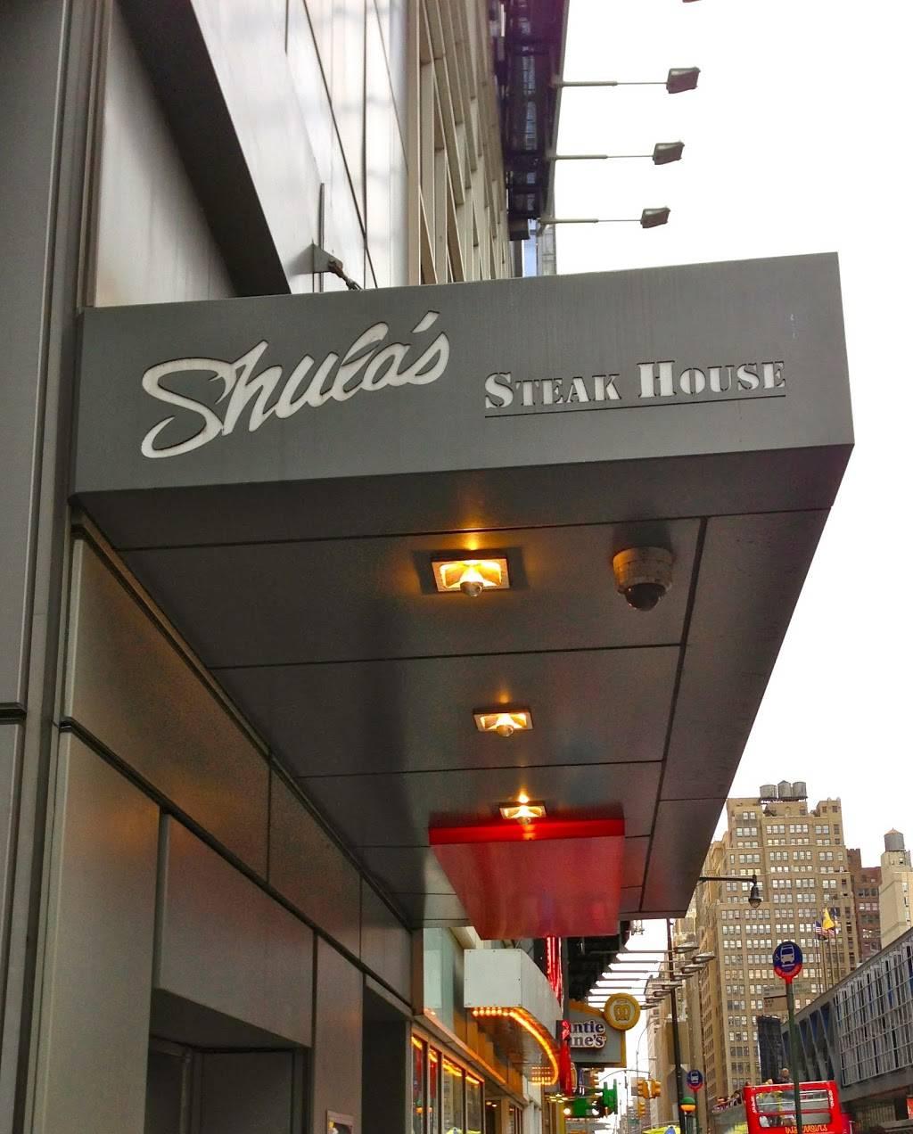 Shulas Steak House | restaurant | 270 W 43rd St, New York, NY 10036, USA | 2122012776 OR +1 212-201-2776