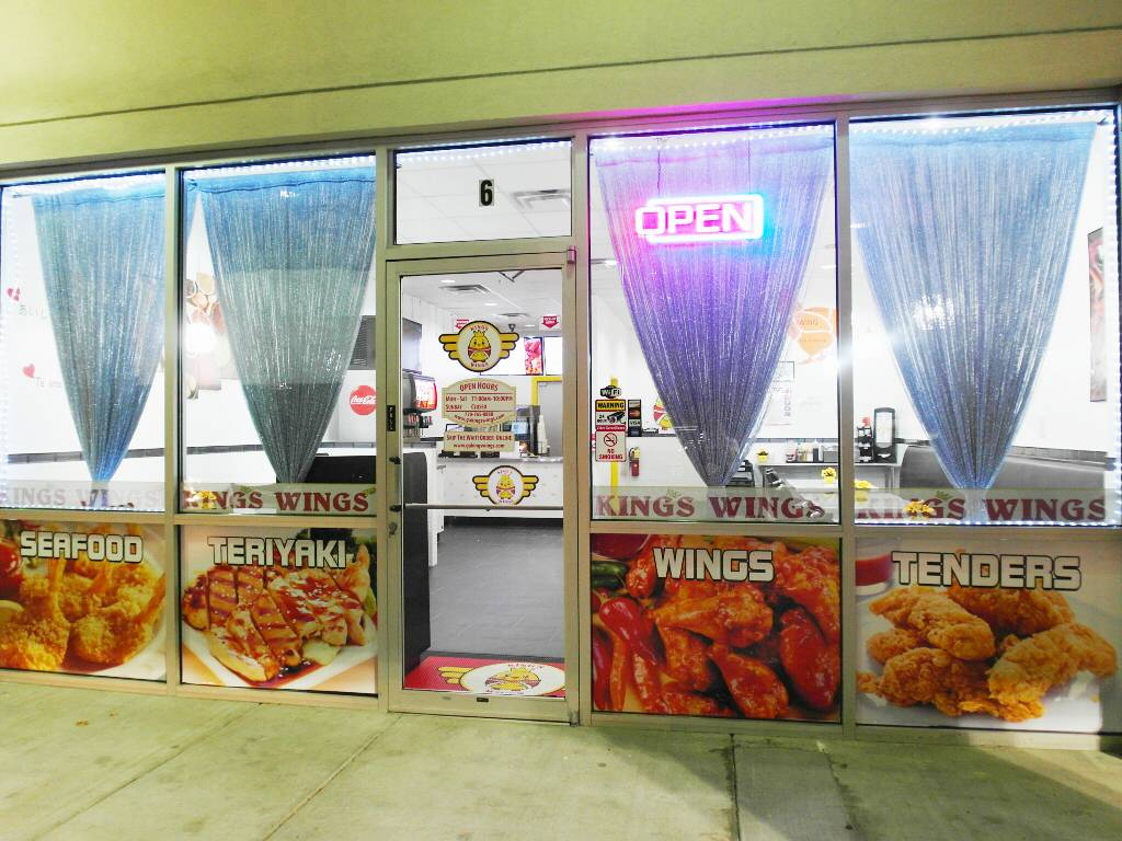 King's Wings | restaurant | 2133 Lawrenceville-Suwanee Rd suite 6, Suwanee, GA 30024, USA | 7707658888 OR +1 770-765-8888