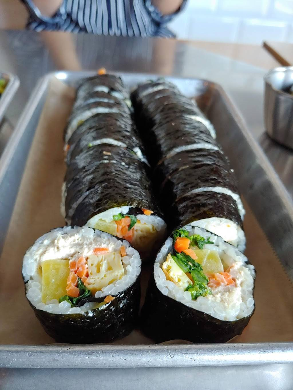 The Kim Bap   restaurant   400 S Western Ave #102, Los Angeles, CA 90020, USA   2133651040 OR +1 213-365-1040