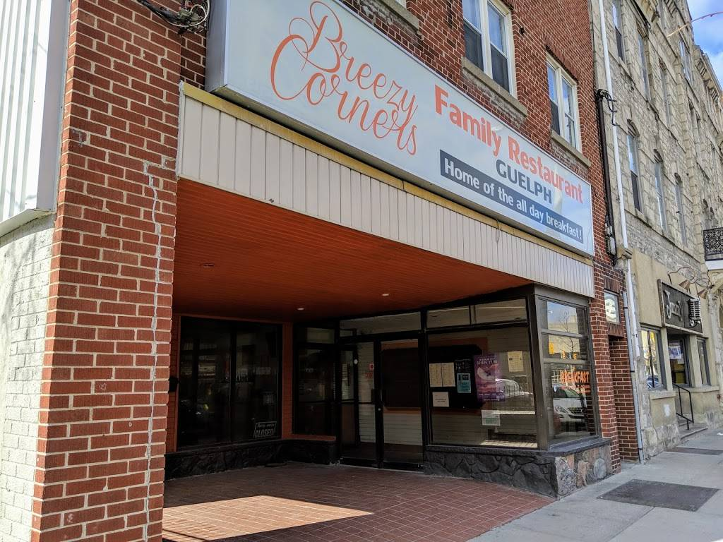 Breezy Corners Guelph   restaurant   44 Macdonell St, Guelph, ON N1H 2Z3, Canada   5197676666 OR +1 519-767-6666