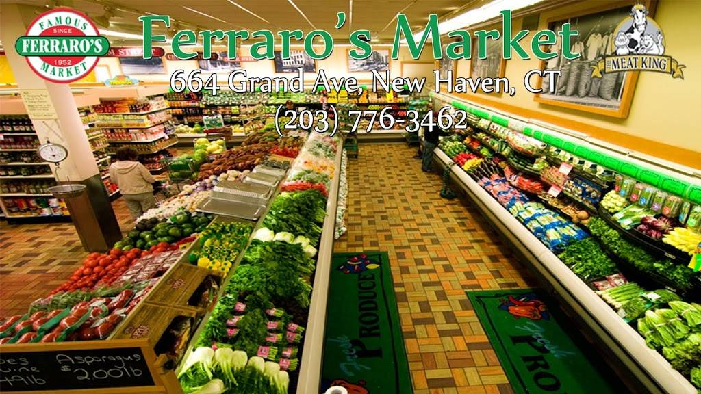 Ferraros Market | meal takeaway | 664 Grand Ave, New Haven, CT 06511, USA | 2037769041 OR +1 203-776-9041