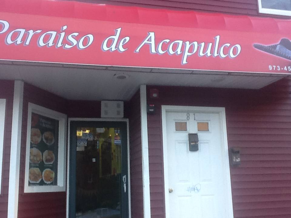 El Paraiso De Alcapulco | restaurant | 83 Martin Luther King Ave, Morristown, NJ 07960, USA | 9734551255 OR +1 973-455-1255