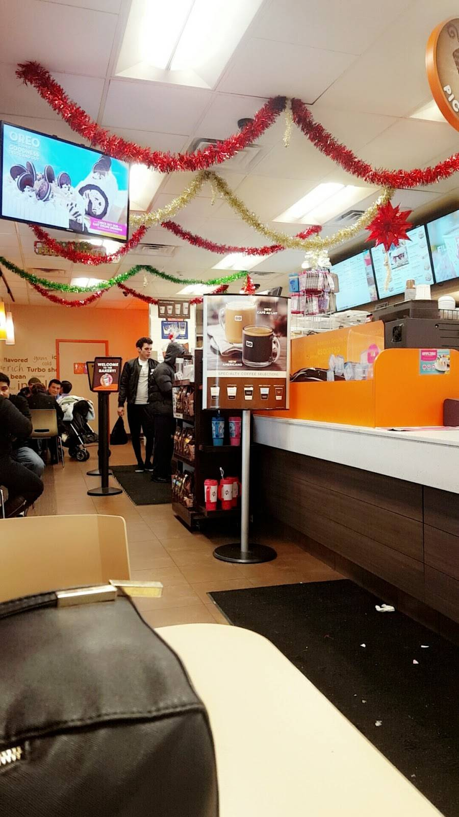 Dunkin Donuts | cafe | 5915 Bergenline Ave, West New York, NJ 07093, USA | 2018540010 OR +1 201-854-0010