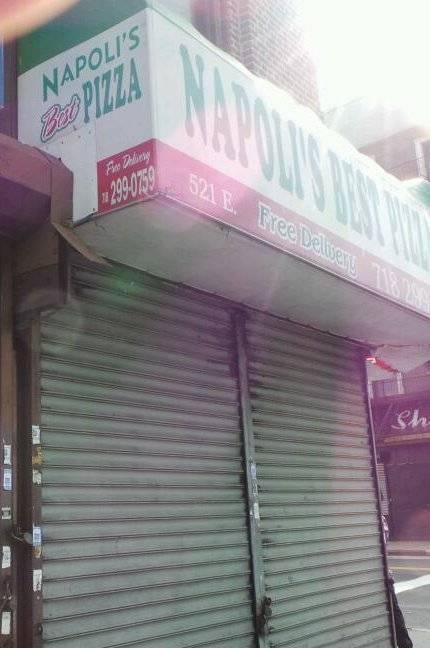 Napolis Best Pizza | restaurant | 521 E Tremont Ave, Bronx, NY 10457, USA | 7182990759 OR +1 718-299-0759
