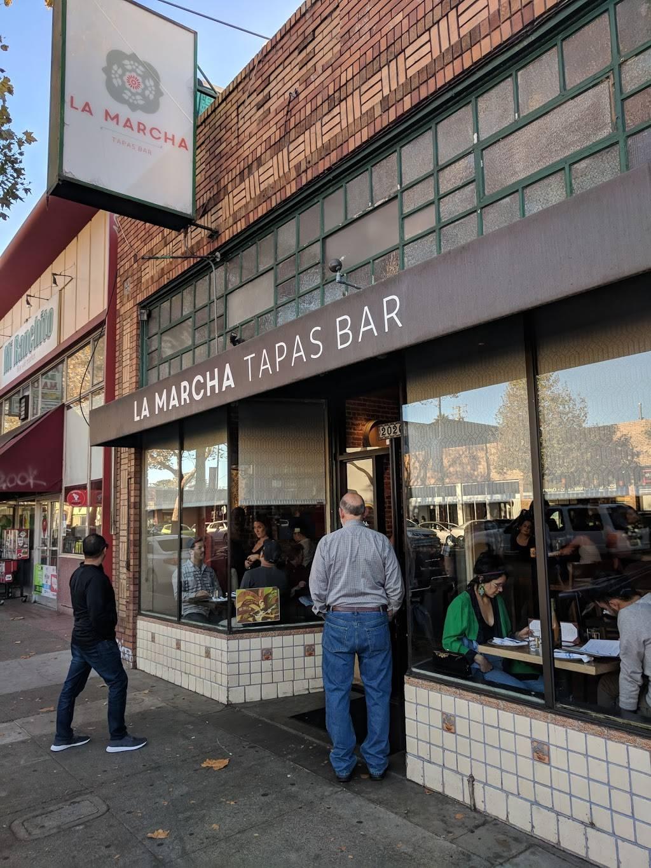 La Marcha Tapas Bar | restaurant | 2026 San Pablo Ave, Berkeley, CA 94702, USA | 5106479525 OR +1 510-647-9525