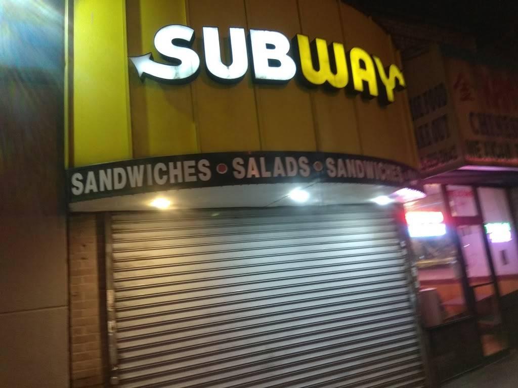 Subway Restaurants | restaurant | 311 E 204th St, Bronx, NY 10467, USA | 7185766063 OR +1 718-576-6063