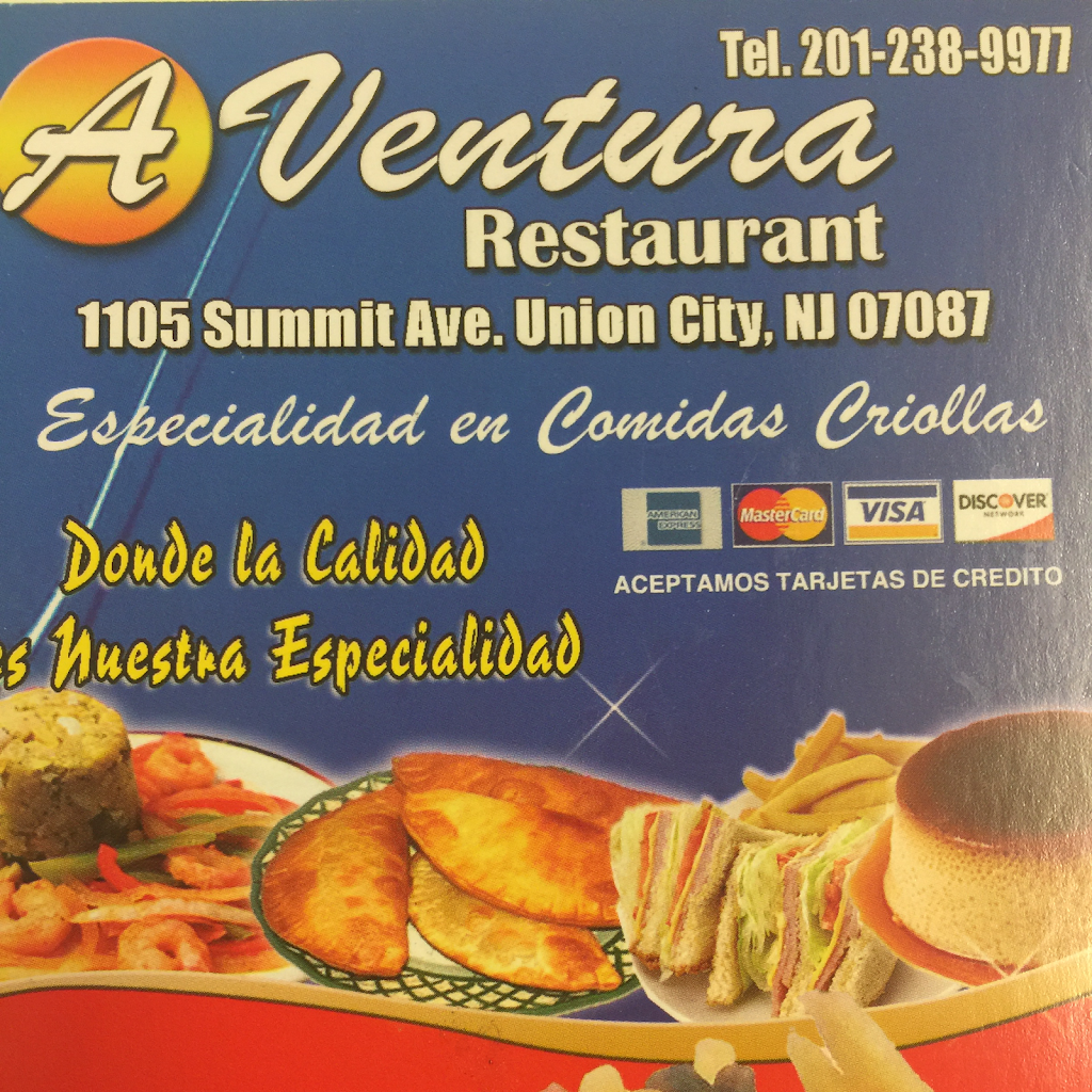 Ventura Restaurant | restaurant | 1105 Summit Ave, Union City, NJ 07087, USA | 2012389977 OR +1 201-238-9977