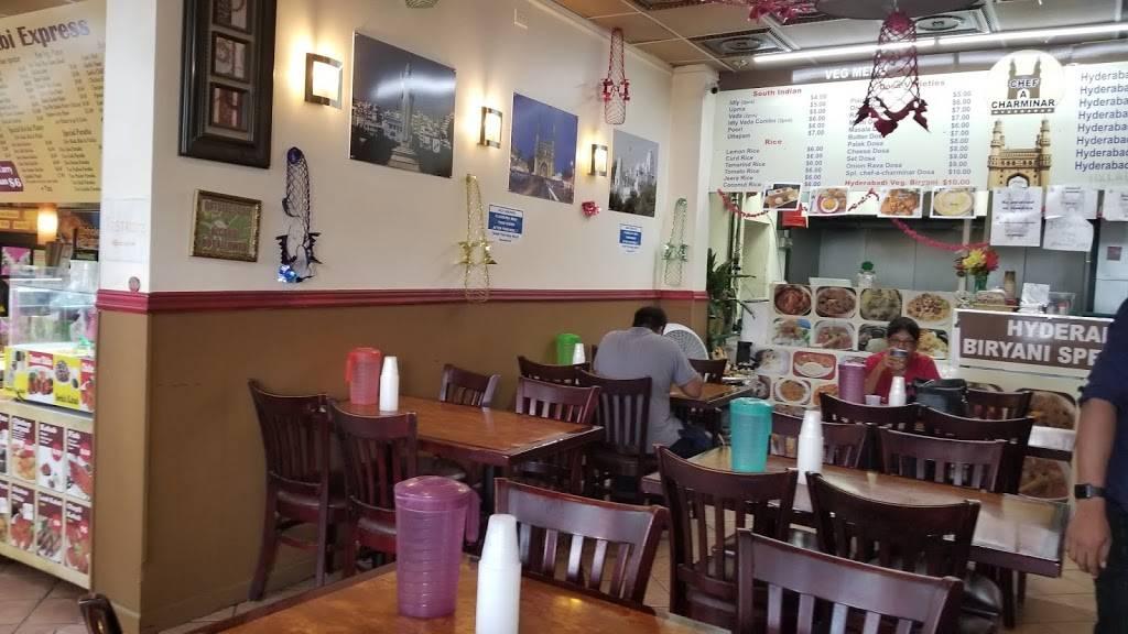 Chef a Charminar   restaurant   1700 Oak Tree Road, Edison, NJ 08820, USA   8482569824 OR +1 848-256-9824