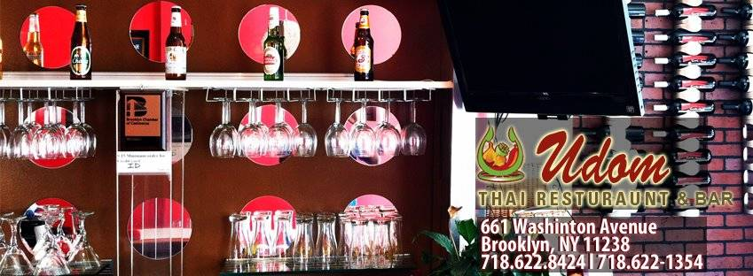 Udom Thai | restaurant | 661 Washington Ave, Brooklyn, NY 11238, USA | 7186221354 OR +1 718-622-1354