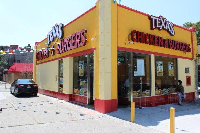Texas Chicken & Burgers | restaurant | 2660 3rd Ave, Bronx, NY 10454, USA | 3472719319 OR +1 347-271-9319
