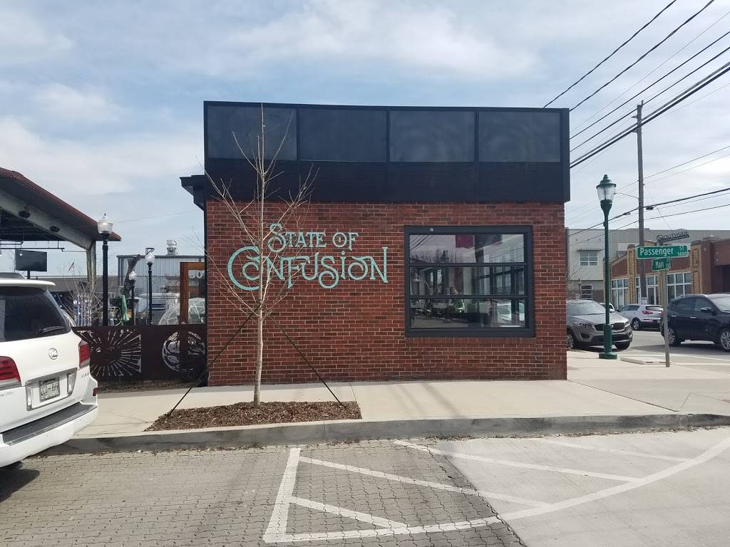 State of Confusion | restaurant | 301 E Main St, Chattanooga, TN 37408, USA | 4237603473 OR +1 423-760-3473