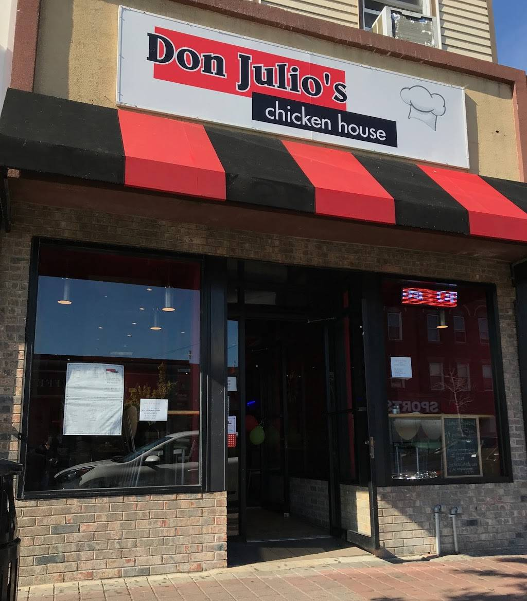 Don Julio's Chicken House | restaurant | 6123 Bergenline Ave, West New York, NJ 07093, USA | 2014306071 OR +1 201-430-6071