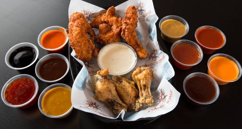 Atomic Wings Brooklyn | restaurant | 188 Parkside Ave Unit 4, Brooklyn, NY 11226, USA | 3479555550 OR +1 347-955-5550