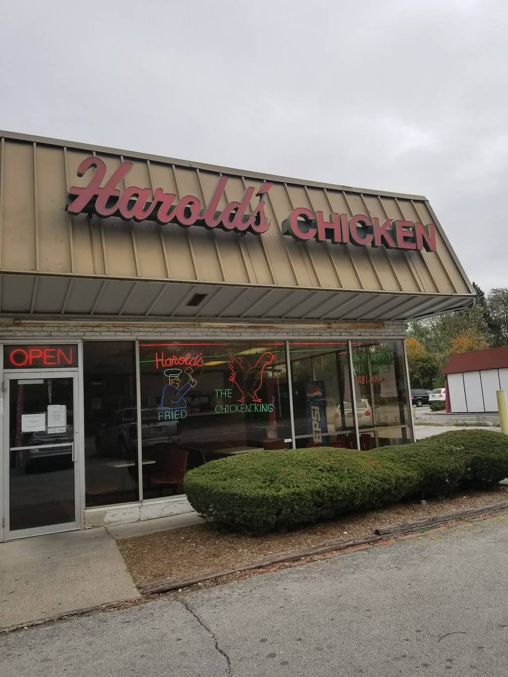 Harolds Chicken Shack | restaurant | 1537 Western Ave, Chicago Heights, IL 60411, USA | 7084817080 OR +1 708-481-7080