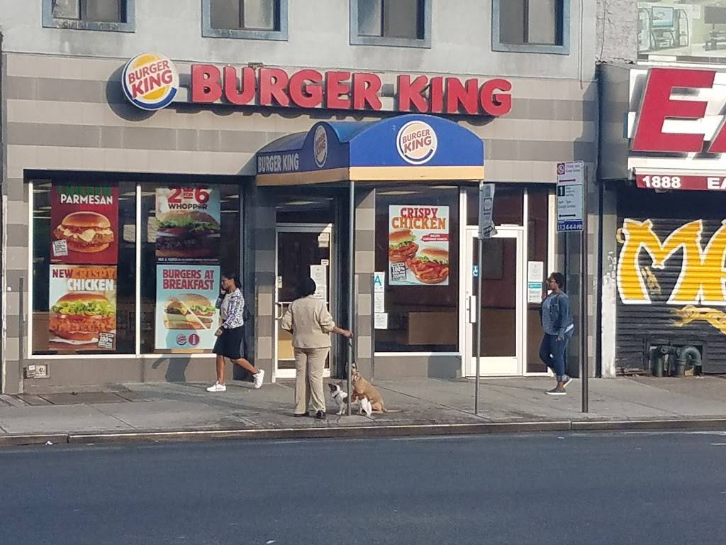 Burger King | restaurant | 1886 3rd Ave, New York, NY 10029, USA | 9174721246 OR +1 917-472-1246