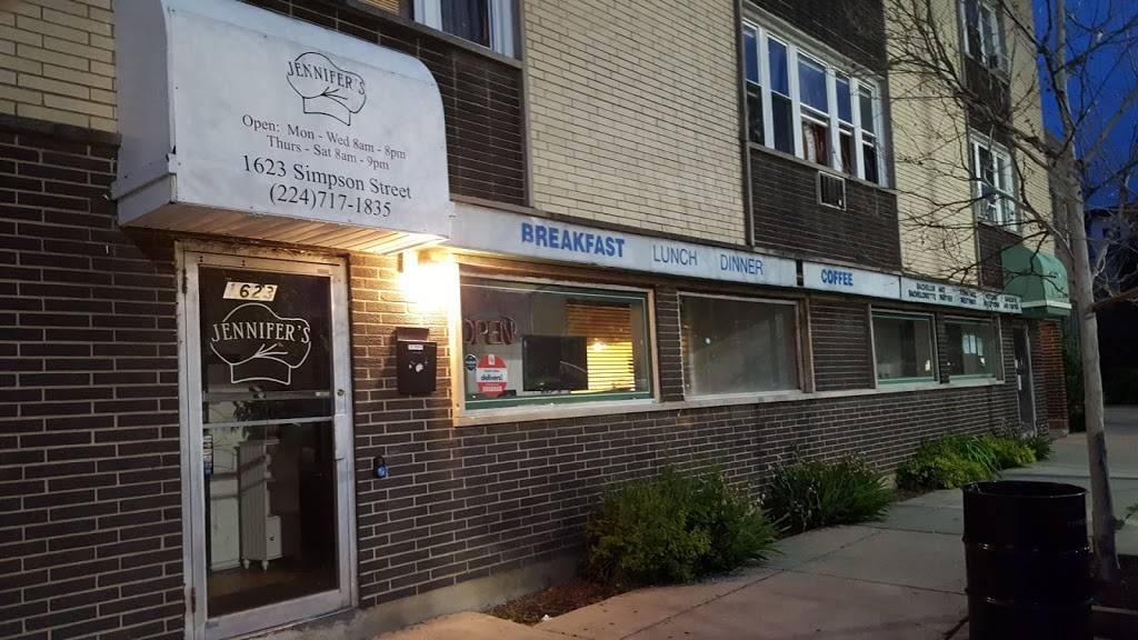 Jennifers Edibles Restaurant | restaurant | 1623 Simpson St, Evanston, IL 60201, USA | 2247171835 OR +1 224-717-1835