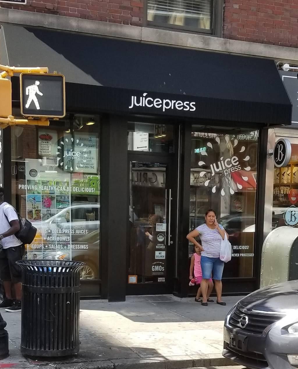 Juice Press | restaurant | 1100 Lexington Ave, New York, NY 10017, USA | 2127770034 OR +1 212-777-0034