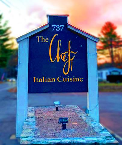 The Chef | restaurant | 737 River Rd, New Boston, NH 03070, USA | 6033842574 OR +1 603-384-2574