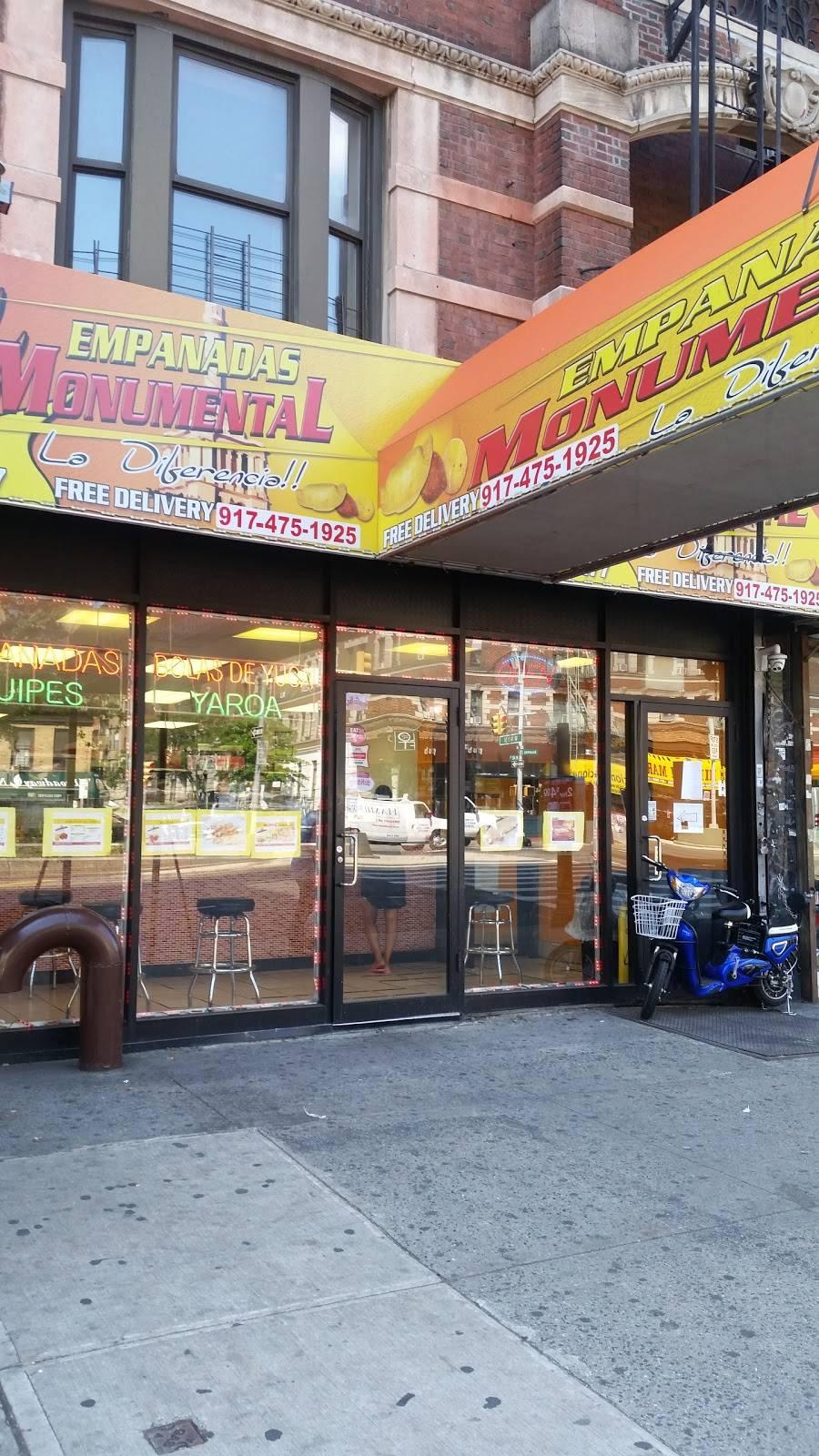 Empanadas Monumental | restaurant | 3477 Broadway, New York, NY 10031, USA | 9174751925 OR +1 917-475-1925