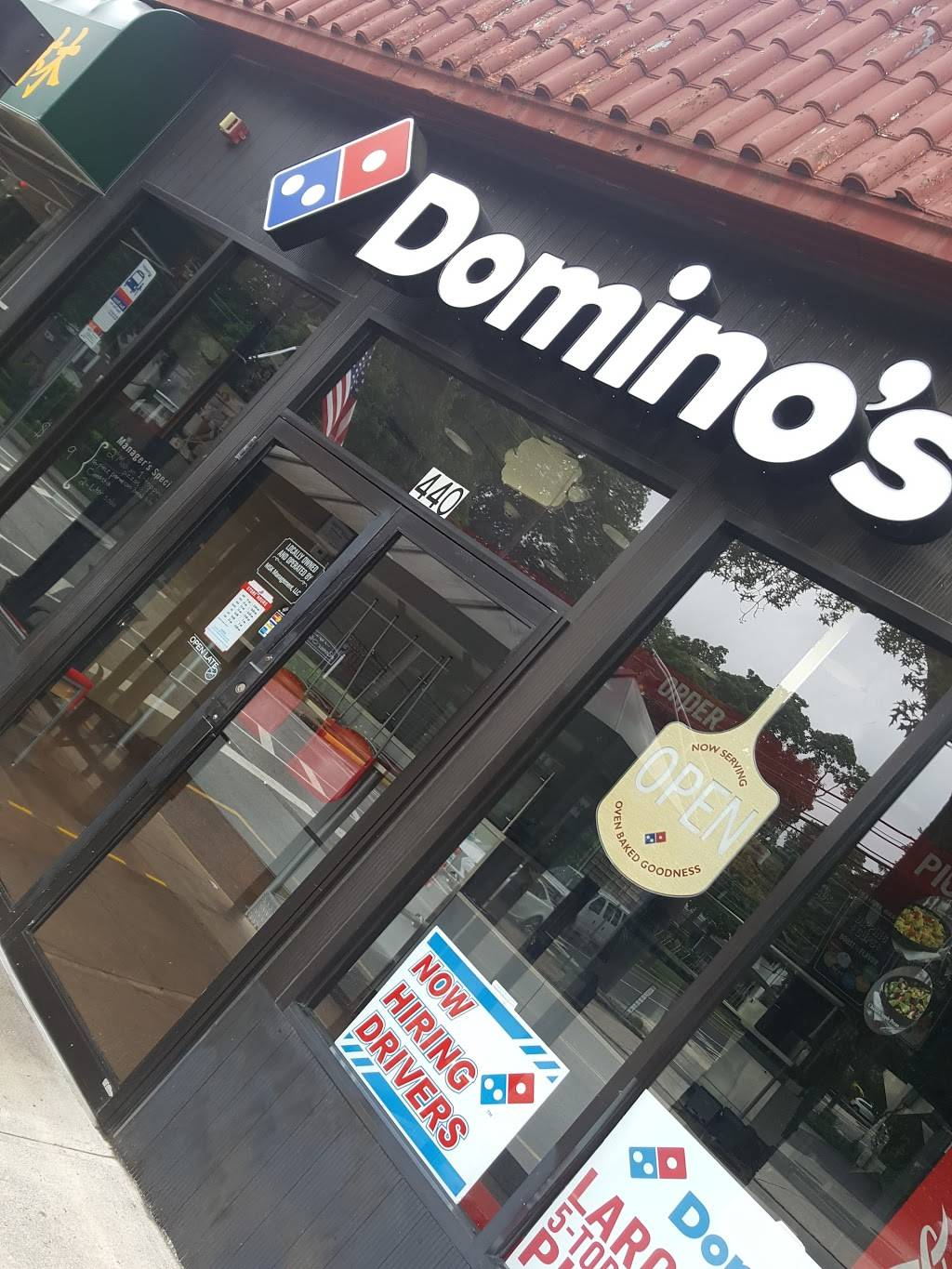 Dominos Pizza   meal delivery   440 Broad Ave, Leonia, NJ 07605, USA   2019449199 OR +1 201-944-9199