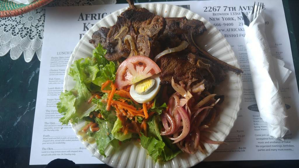 Africa Kine   restaurant   2267 Adam Clayton Powell Jr Blvd, New York, NY 10027, USA   2126669400 OR +1 212-666-9400