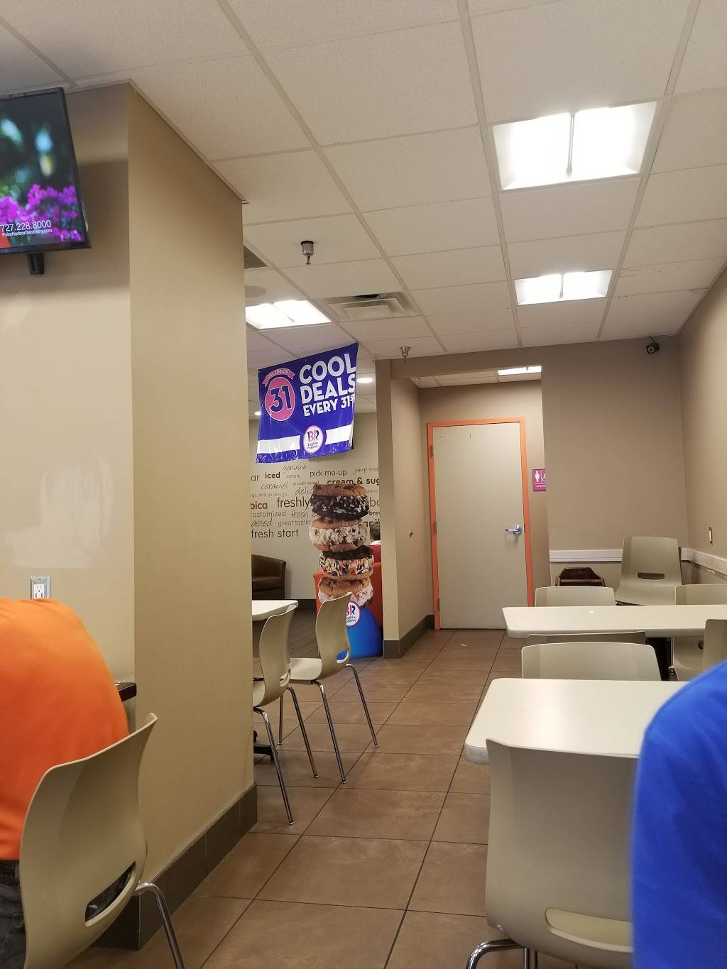 Dunkin Donuts   cafe   2451 McMullen Booth Rd, Clearwater, FL 33759, USA   7272235906 OR +1 727-223-5906