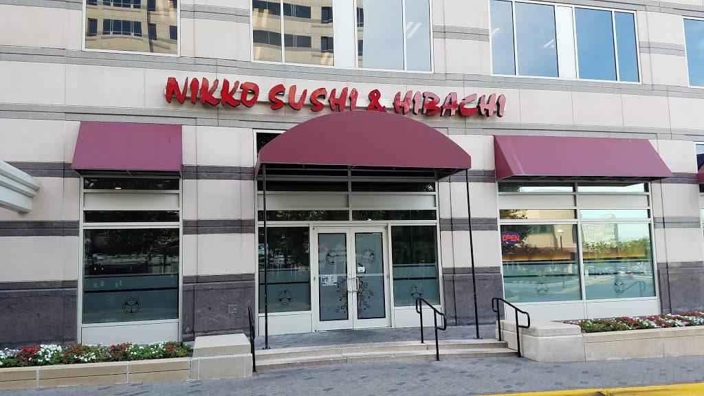 Nikko Sushi & Hibachi | restaurant | 11730 Plaza America Dr, Reston, VA 20190, USA | 7037875788 OR +1 703-787-5788