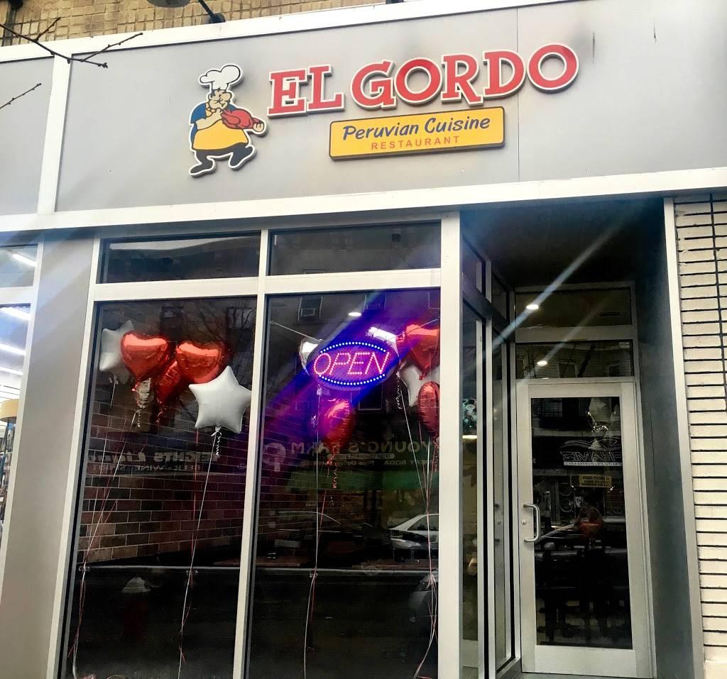 El Gordo | restaurant | 291 Central Ave, Jersey City, NJ 07307, USA | 2017063425 OR +1 201-706-3425