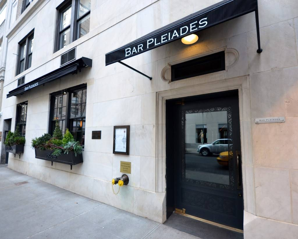 Bar Pleiades | restaurant | 20 E 76th St, New York, NY 10021, USA | 2127722600 OR +1 212-772-2600