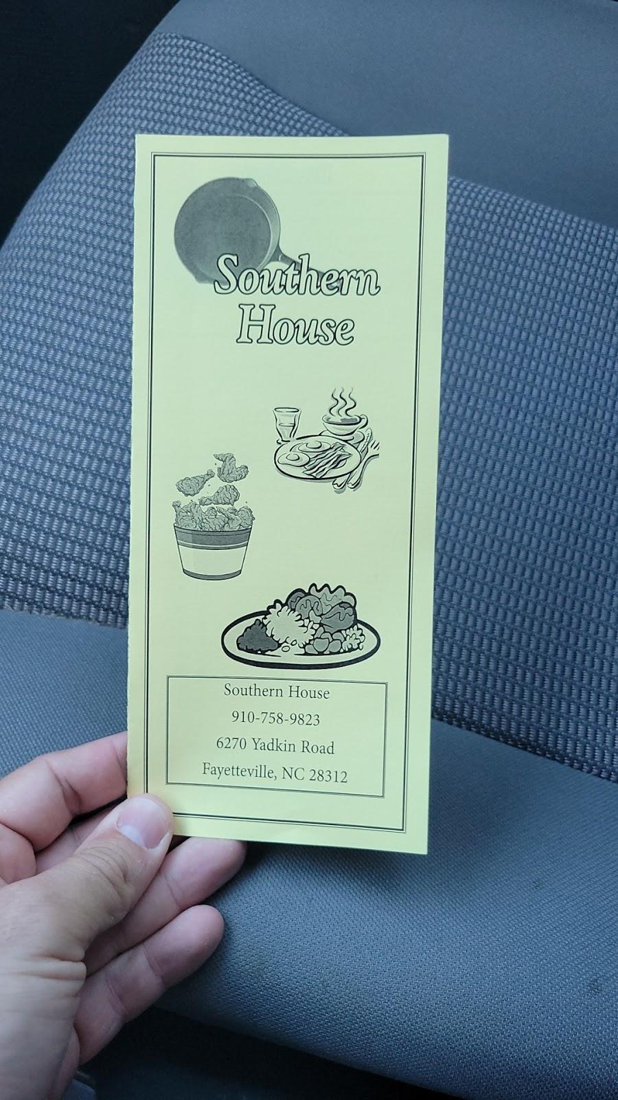 Southern House   restaurant   6270 Yadkin Rd, Fayetteville, NC 28303, USA   9107589823 OR +1 910-758-9823