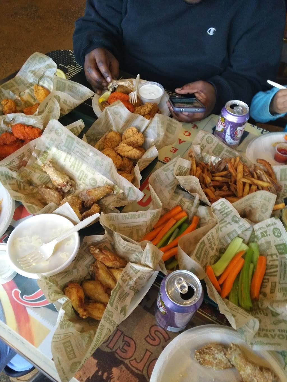 Wingstop | meal takeaway | 9100 Tonnelle Ave, North Bergen, NJ 07047, USA | 2017669464 OR +1 201-766-9464