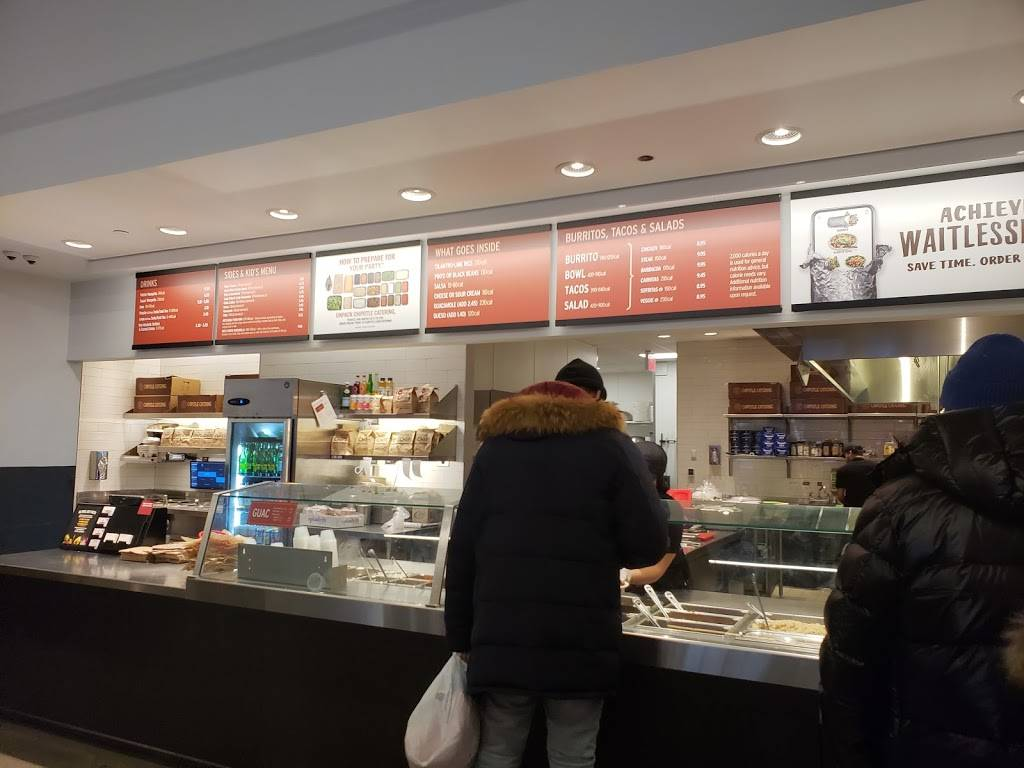 Chipotle Mexican Grill | restaurant | 72 W 125th St, New York, NY 10027, USA | 2127220746 OR +1 212-722-0746