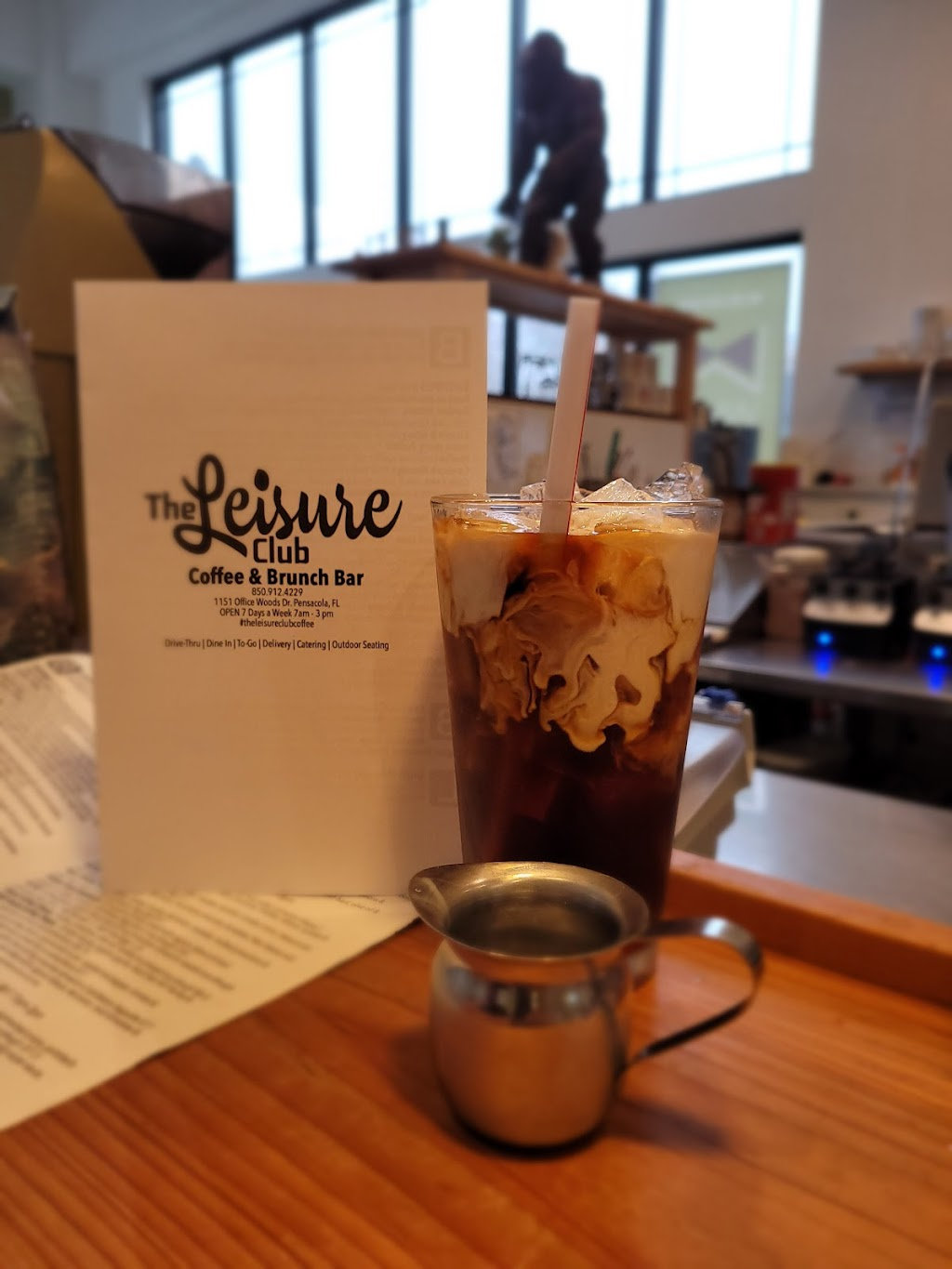 The Leisure Club Coffee Bar & Restaurant   cafe   1151 Office Woods Dr Suite A, Pensacola, FL 32504, USA   8509124229 OR +1 850-912-4229