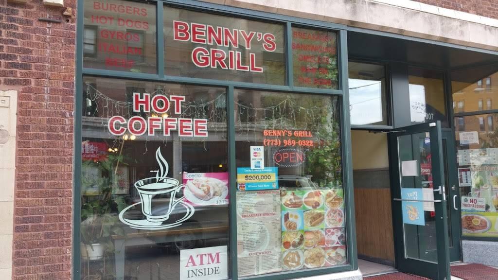Bennys Grill   restaurant   1005 W Argyle St, Chicago, IL 60640, USA   7739890322 OR +1 773-989-0322