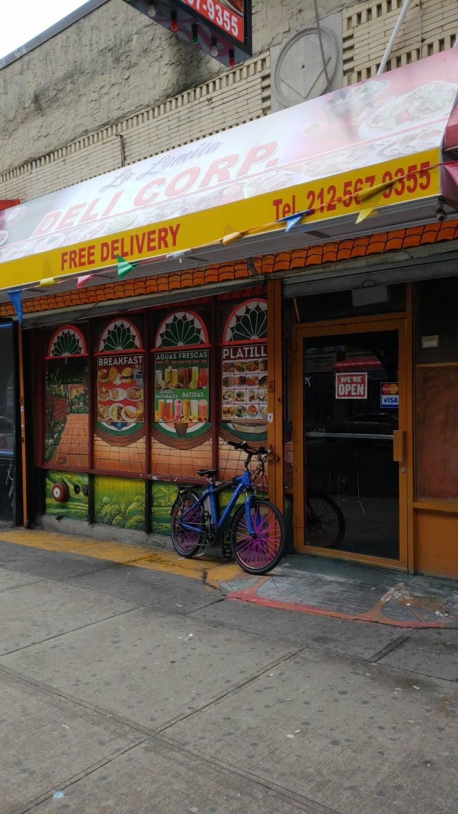 La Lomita | restaurant | 3868 10th Ave, New York, NY 10034, USA | 2125679355 OR +1 212-567-9355