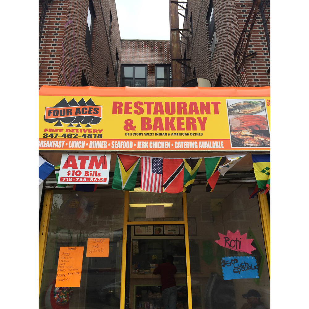 Four Aces | restaurant | 684 Hegeman Ave, Brooklyn, NY 11207, USA | 3474624818 OR +1 347-462-4818