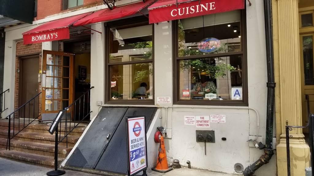 Bombays | restaurant | 60 Pearl St, New York, NY 10004, USA | 2127422222 OR +1 212-742-2222