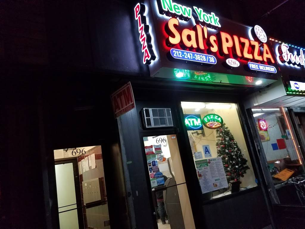 New York Sals Pizza | meal delivery | 696 10th Ave, New York, NY 10019, USA | 2122473628 OR +1 212-247-3628