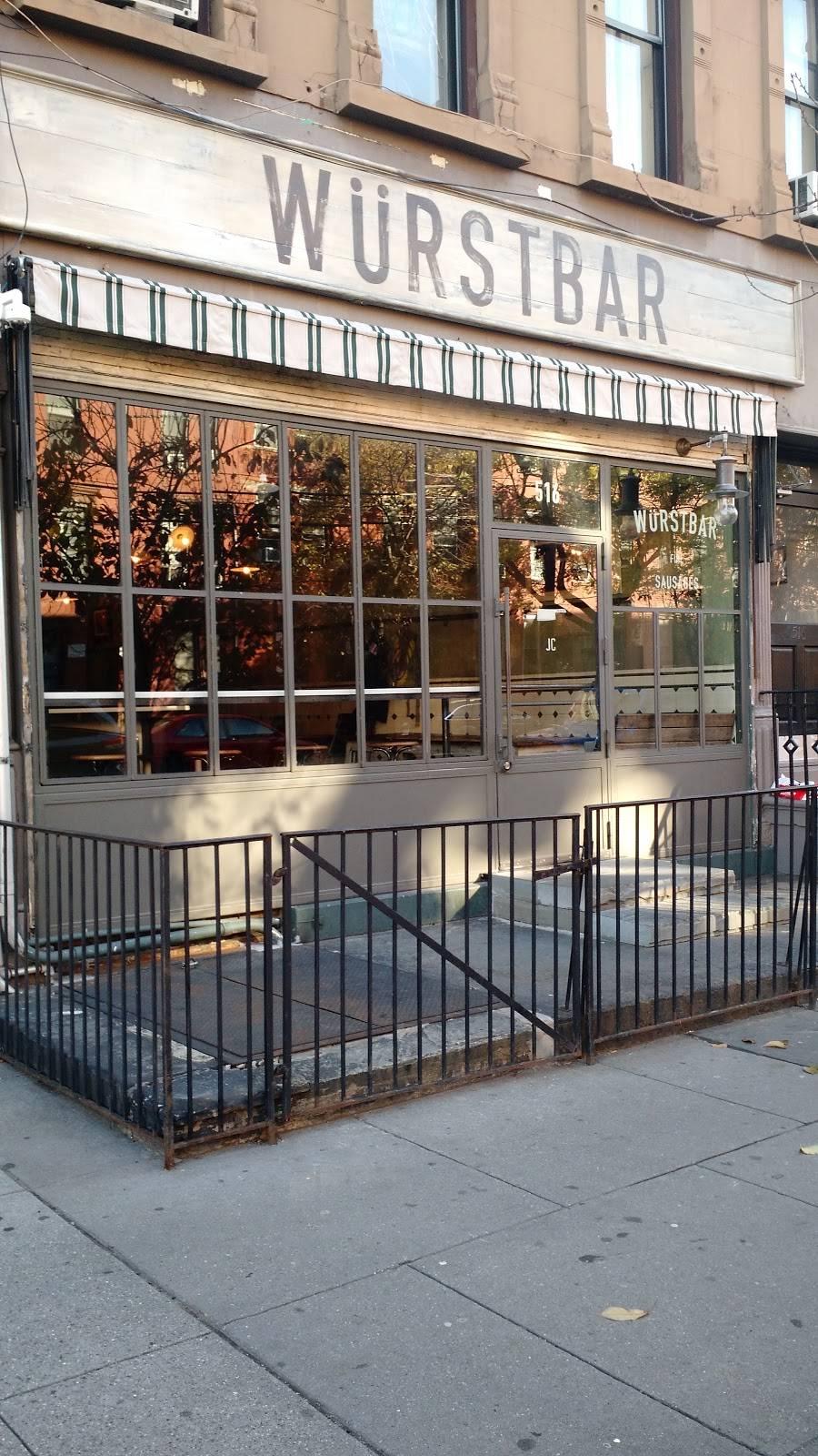 WÜRSTBAR   restaurant   516 Jersey Ave, Jersey City, NJ 07302, USA   2014798396 OR +1 201-479-8396