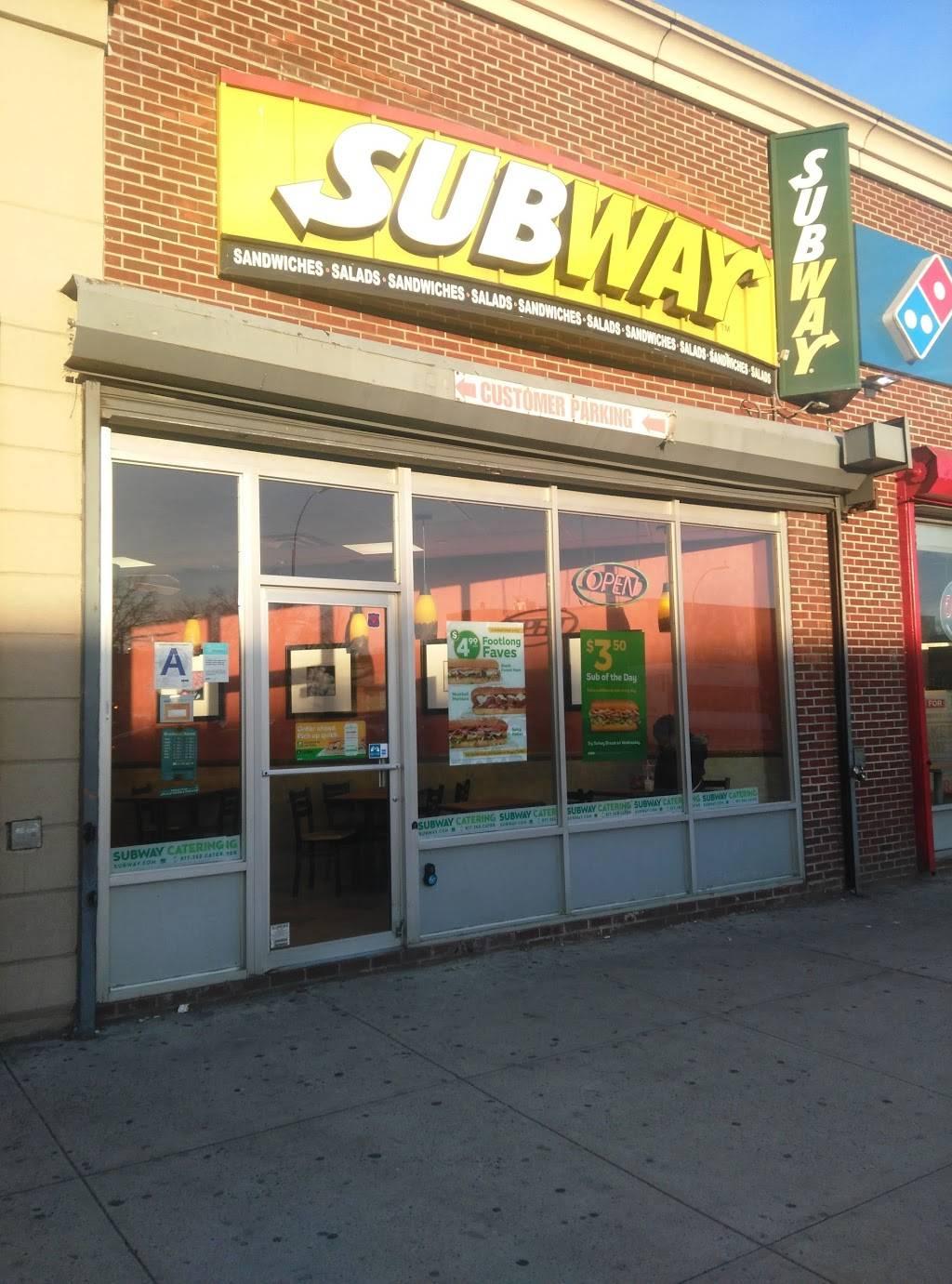 Subway Restaurants | restaurant | 241 Rockaway Pkwy, Brooklyn, NY 11212, USA | 7183466550 OR +1 718-346-6550