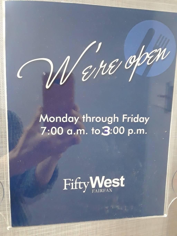 Fifty West Cafeteria   cafe   3975 Fair Ridge Dr # T28n, Fairfax, VA 22033, USA   7035918280 OR +1 703-591-8280