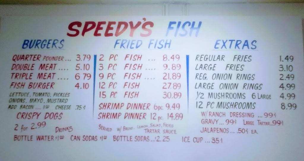 Speedys Fish | restaurant | 1359 Kirk Pl, San Antonio, TX 78226, United States | 2102514367 OR +1 210-251-4367