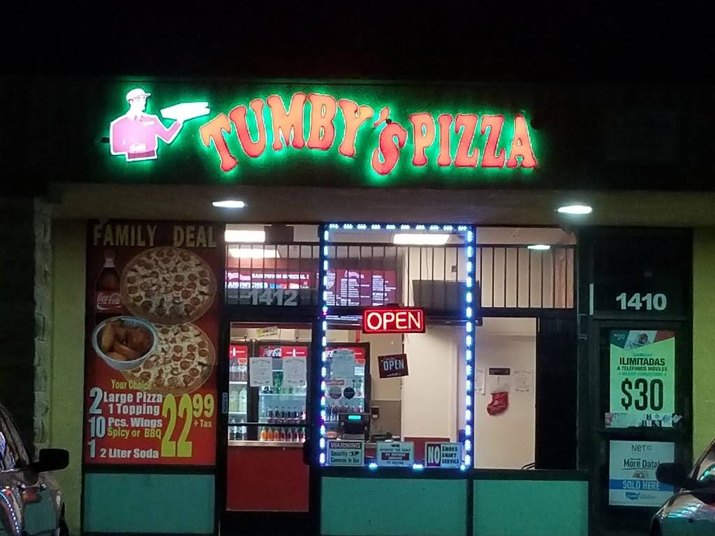 Tumbys Pizza | meal takeaway | 1412 Atlantic Ave, Long Beach, CA 90813, USA | 5622180000 OR +1 562-218-0000