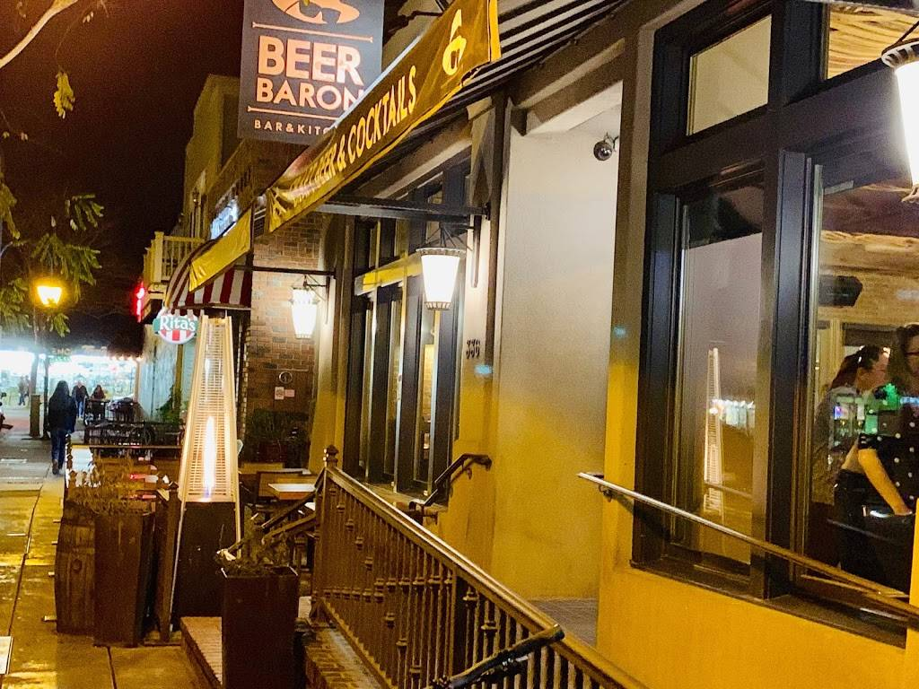 Beer Baron Bar Kitchen Restaurant 336 St Mary St Pleasanton Ca 94566 Usa