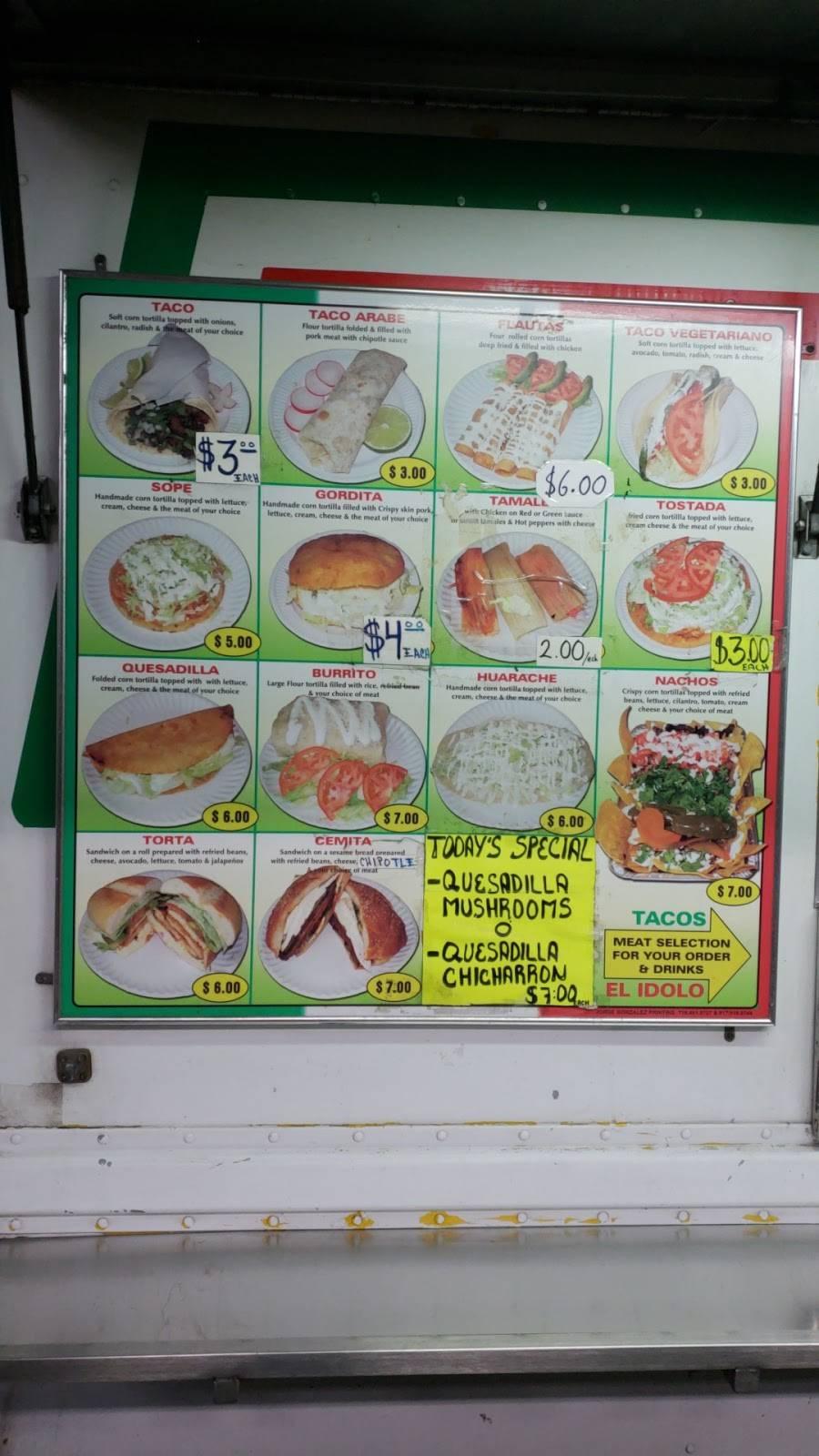Tacos El Idolo | restaurant | Broadway & Kossuth Pl, Brooklyn, NY 11221, USA