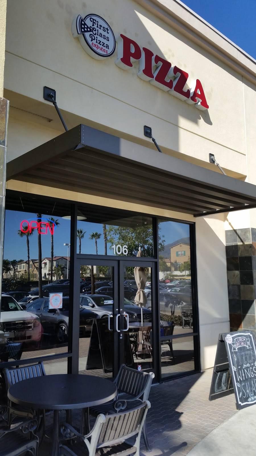 First Class Pizza Restaurant 45 Auto Center Dr Foothill