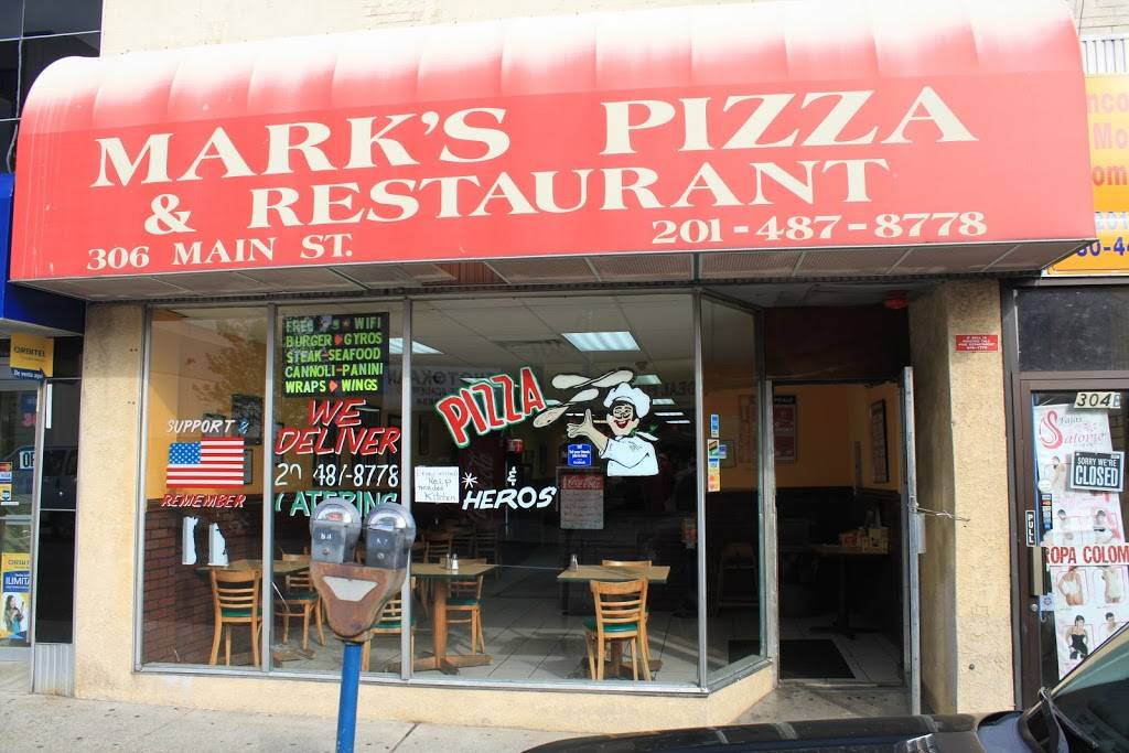 Marks Pizza & Restaurant | restaurant | 306 Main St, Hackensack, NJ 07601, USA | 2014878778 OR +1 201-487-8778
