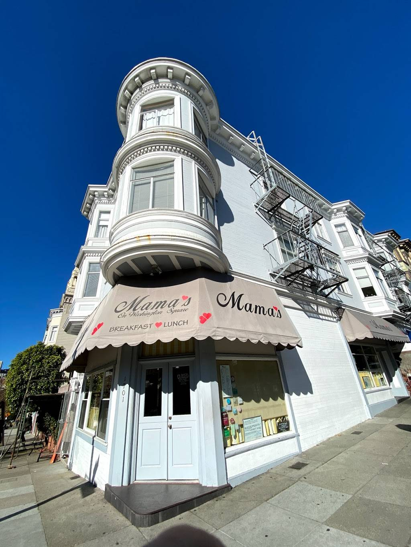Mamas On Washington Square   restaurant   1701 Stockton St, San Francisco, CA 94133, USA   4153626421 OR +1 415-362-6421