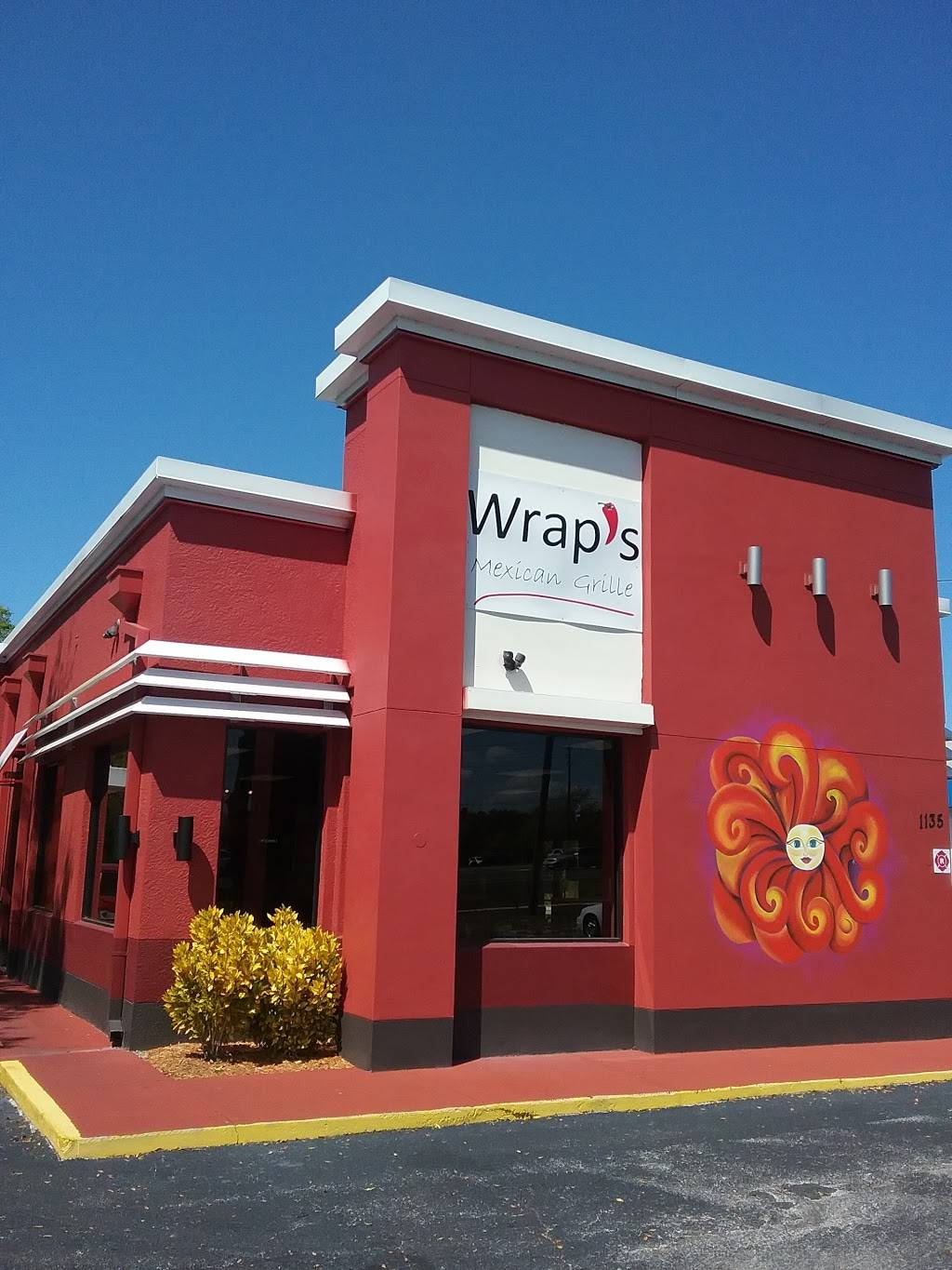 Wraps Mexican Grille & Restaurant | restaurant | 1135 Commercial Way, Spring Hill, FL 34606, USA | 3526847386 OR +1 352-684-7386