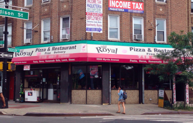 Royal Pizza | restaurant | 55-06 Myrtle Ave, Ridgewood, NY 11385, USA | 7184977090 OR +1 718-497-7090